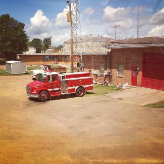 american fire truck