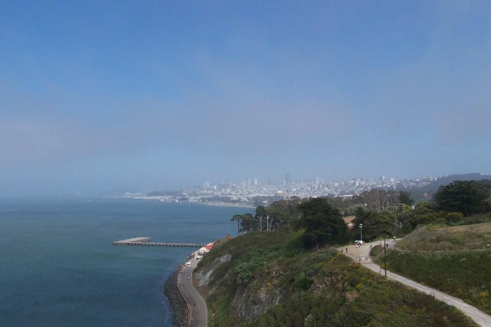 Blick auf SF