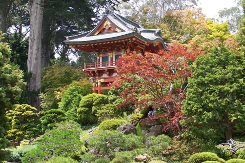 Japanes Tea Garden im golden gate park