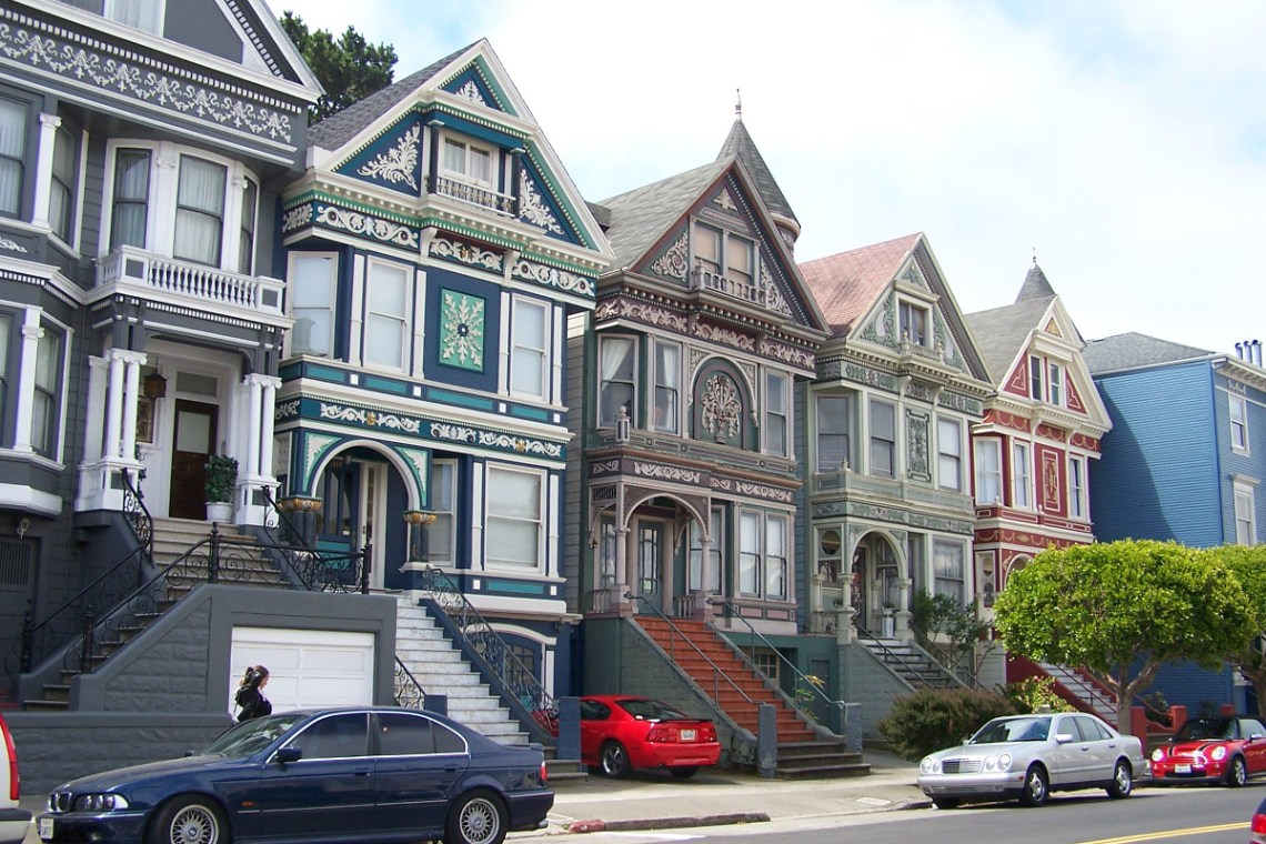 Painted Ladies Haight and Ashbury