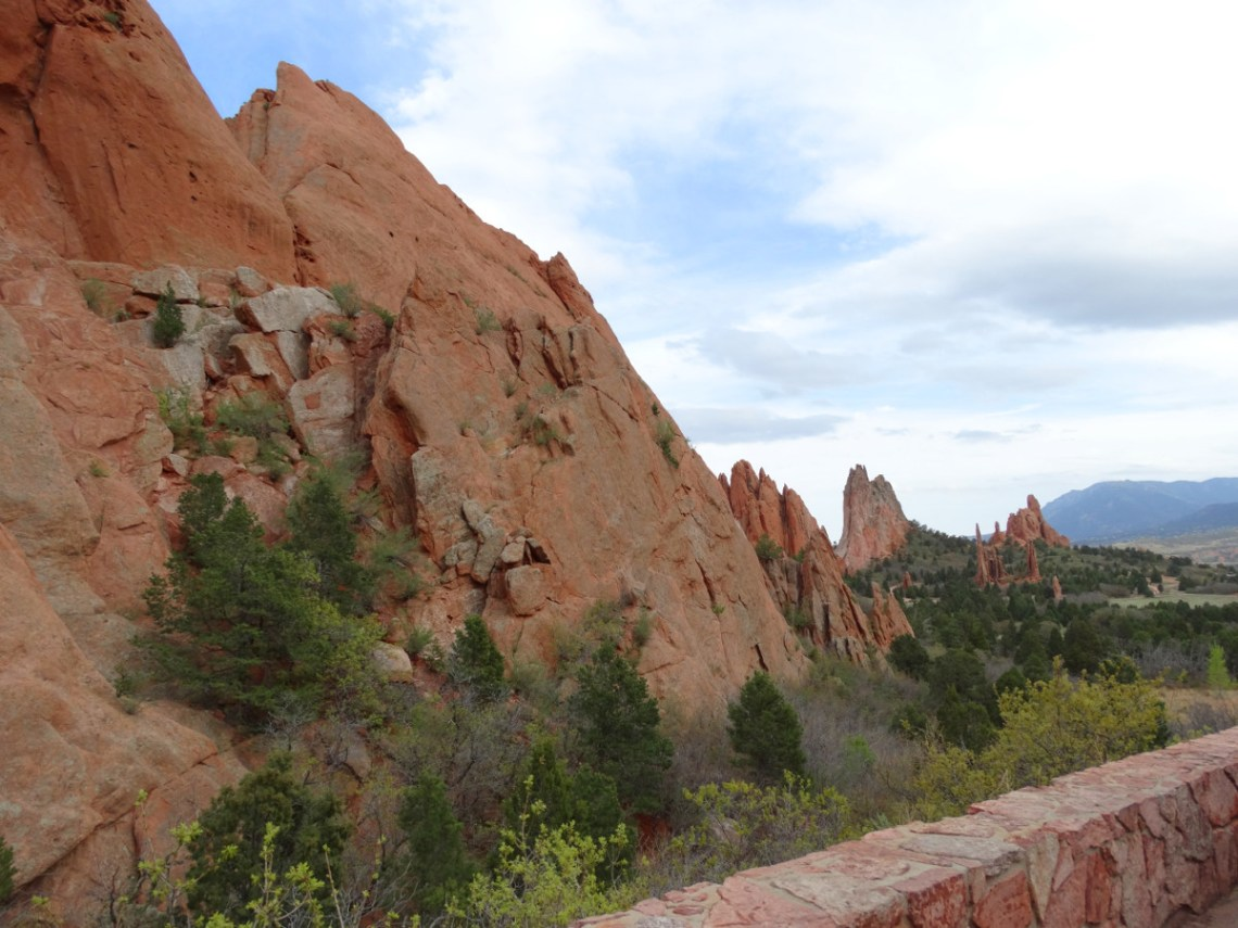 Scenic View Garden of the Gods