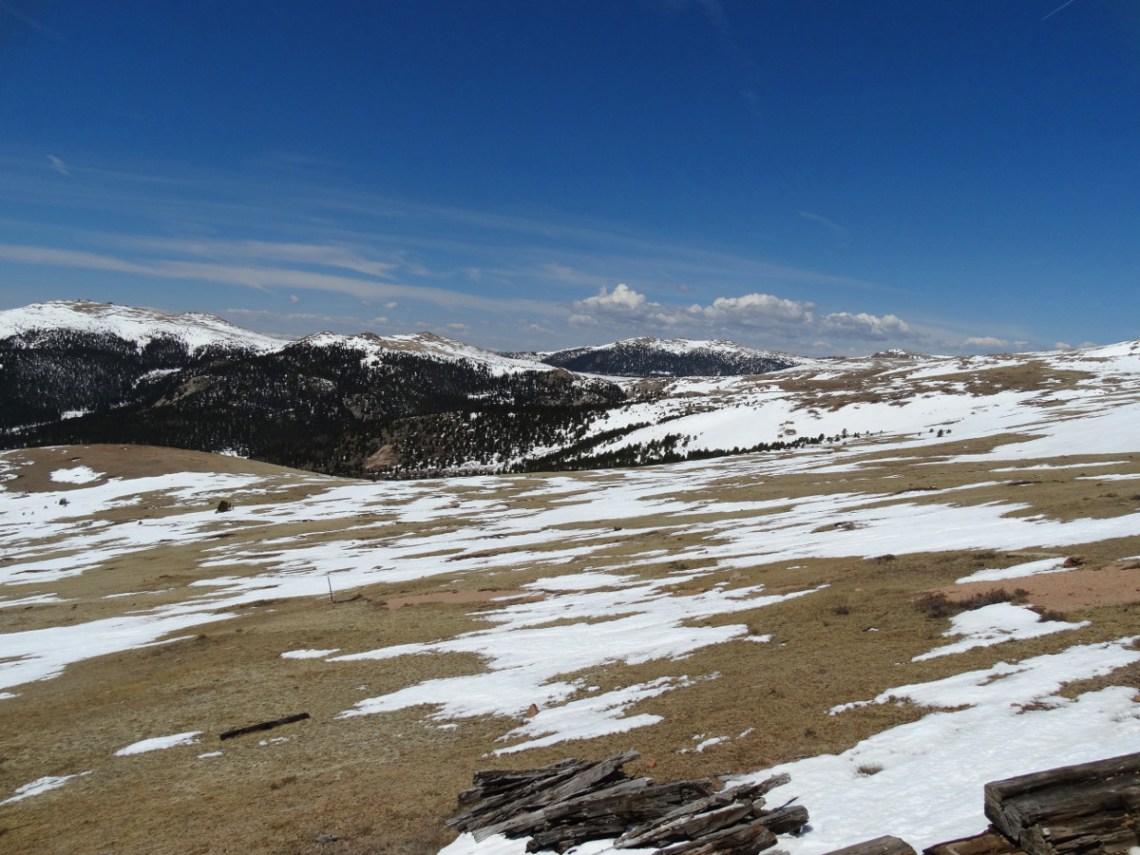 Schnee Pikes Peak