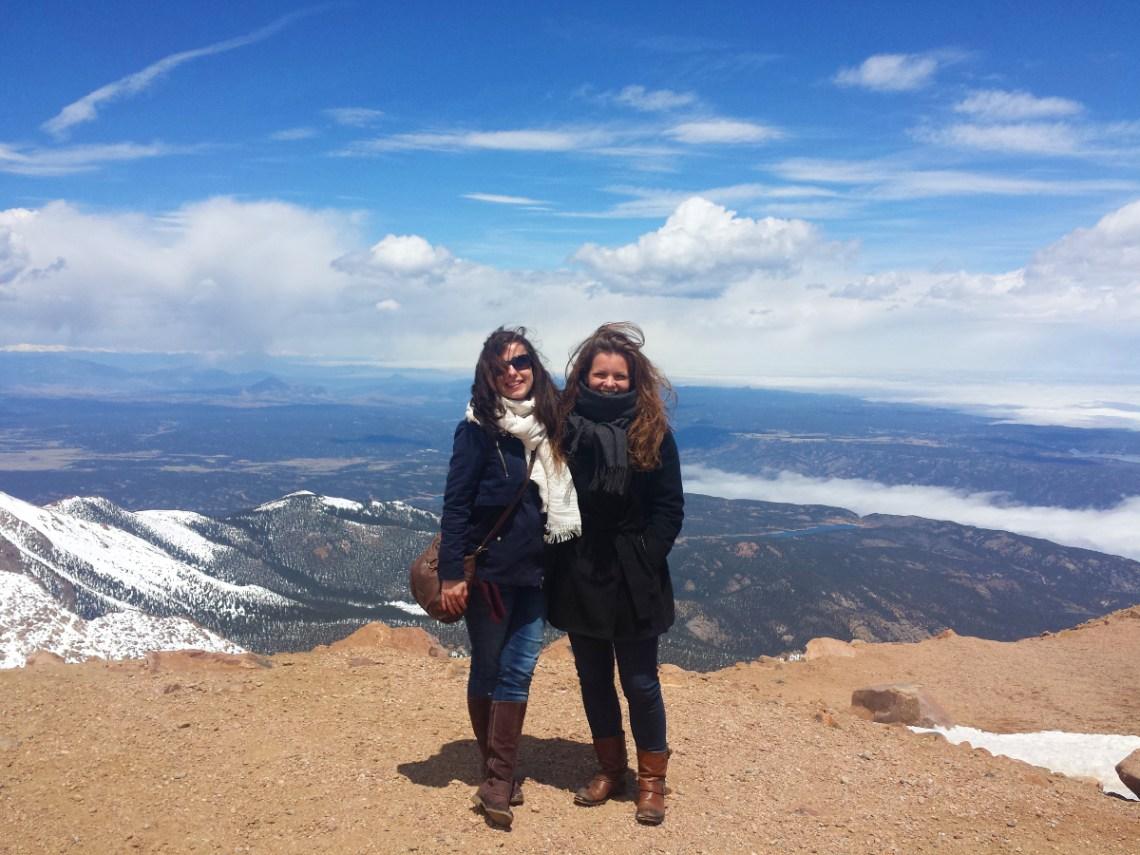 Top of Pikes Peak