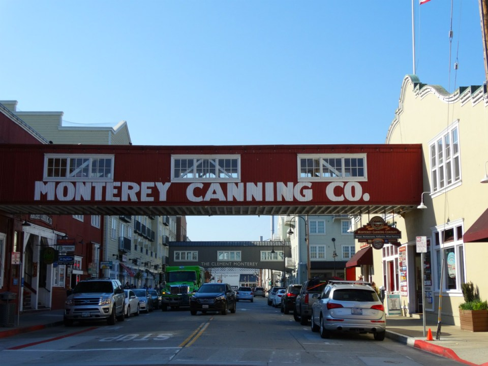 Cannery Row in Monterey