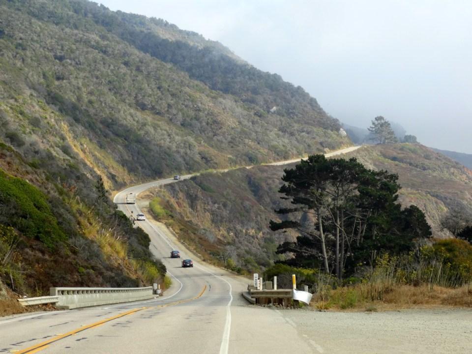 Immer entlang der Westküste am Highway 1