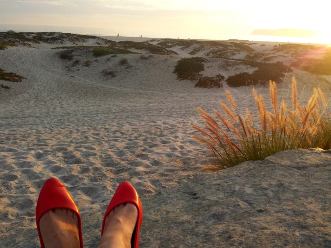 Coronado Beach sonnenuntergang