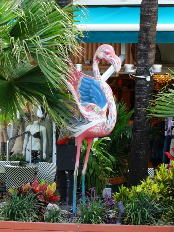 Flamingo decor ocean drive