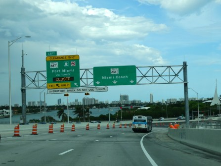Miami beach road