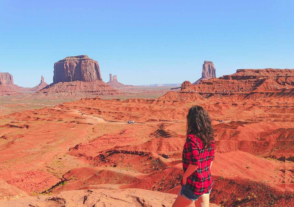 Monument Valley Highlight auf meinem USA Westküste Roadtrip