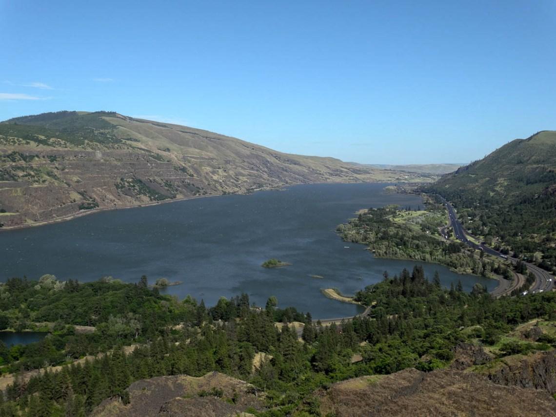 Columbia River Gorge Ausblick
