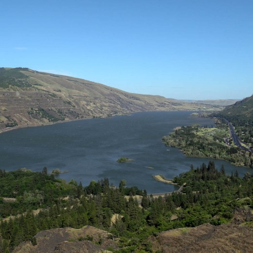 Columbia River Gorge Ausblick