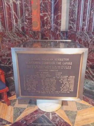 Time Capsule Louisiana State Capitol