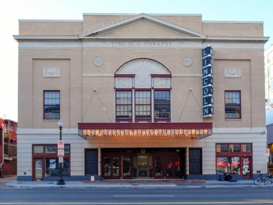 Lincoln Theater wo Jazzlegende Duke Ellington spielte