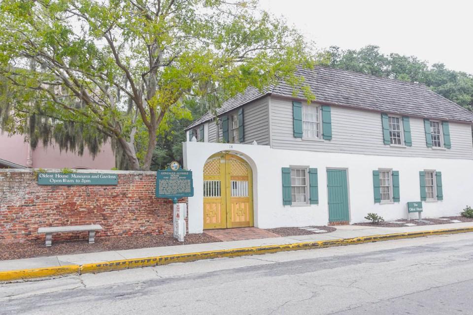 Ältestes Haus in St. Augustine