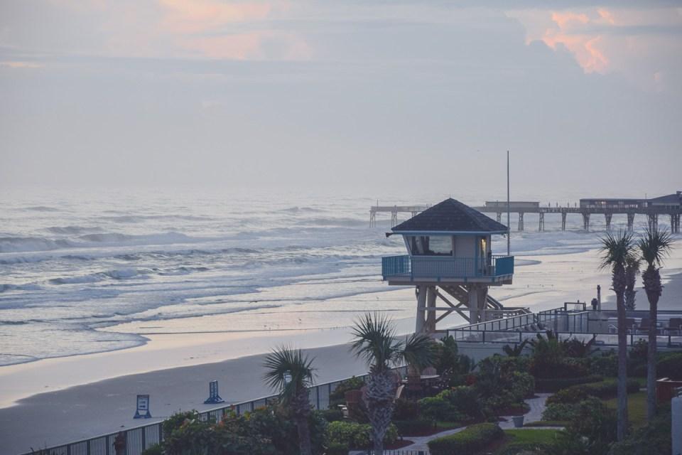 Sonnenaufgang am Daytona Beach