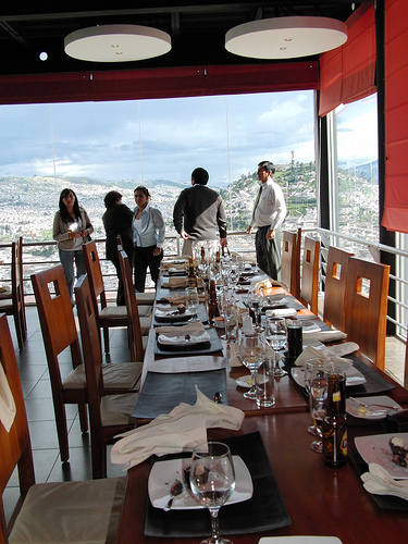 Lunch in Quito