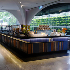 Double Tree Sukhumvit Bangkokの朝食