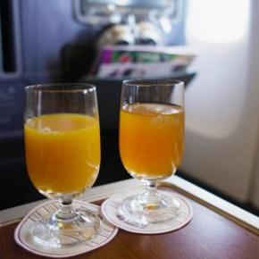 夢の空路、香港→バンコク