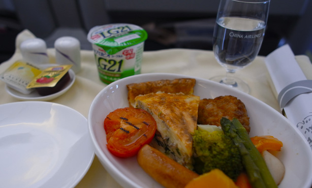 China Airlines HND – TSA C Class
