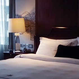 どこか妖艶な雰囲気 ホテル ミューズ バンコク