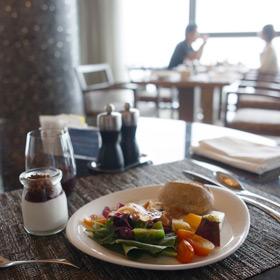 シェラトン ソウル D Cube City クラブラウンジでゆっくりと朝食
