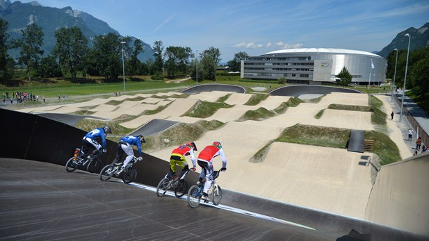 uci world cycling centre aigle BMX2