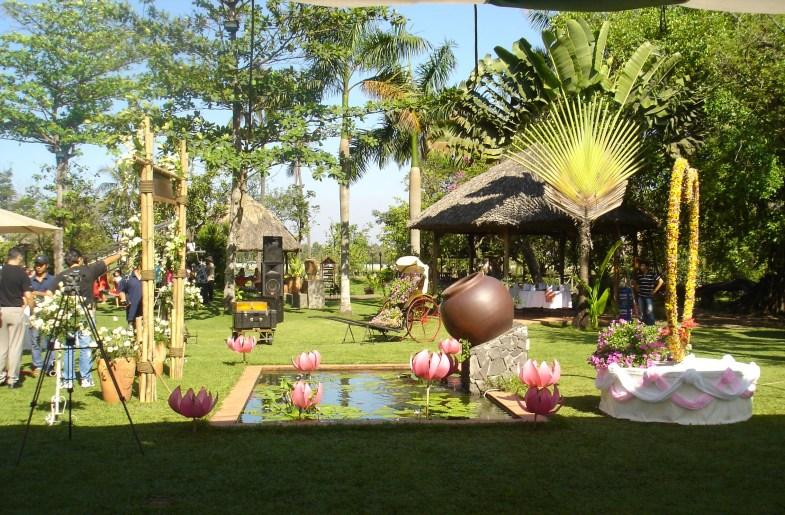 A space of Binh Quoi 1 Tourist Village