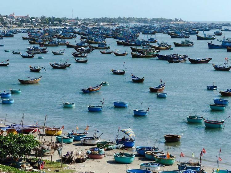 fishing village in mui ne