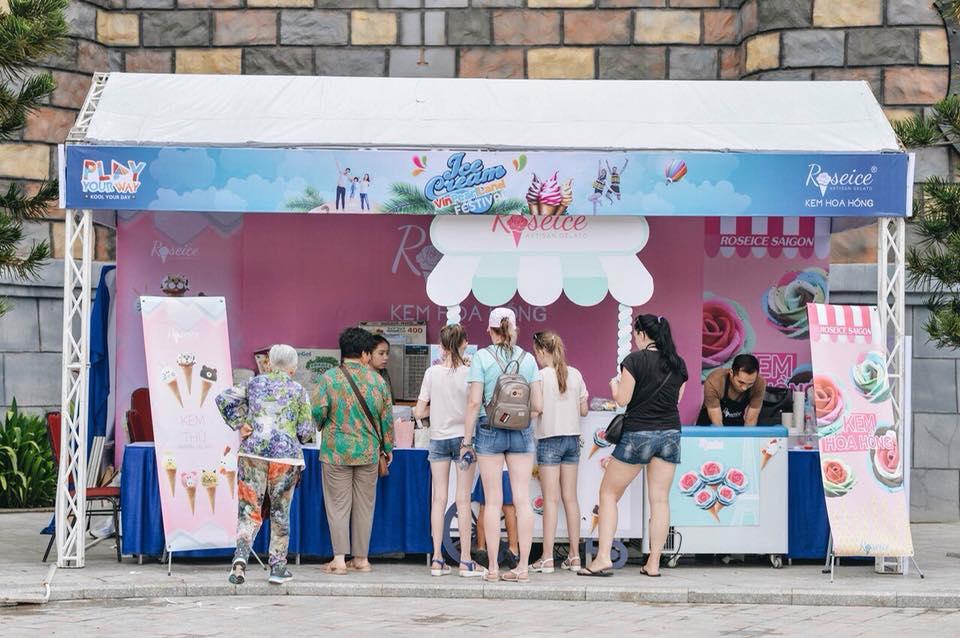 roseice saigon ice cream