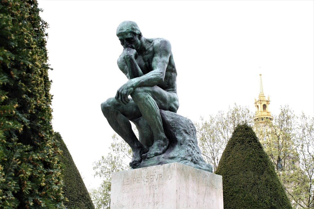 the thinker facts