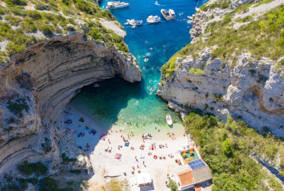 Stiniva Beach, Vis Island, Croatia
