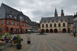 The UNESCO listed old town of Goslar