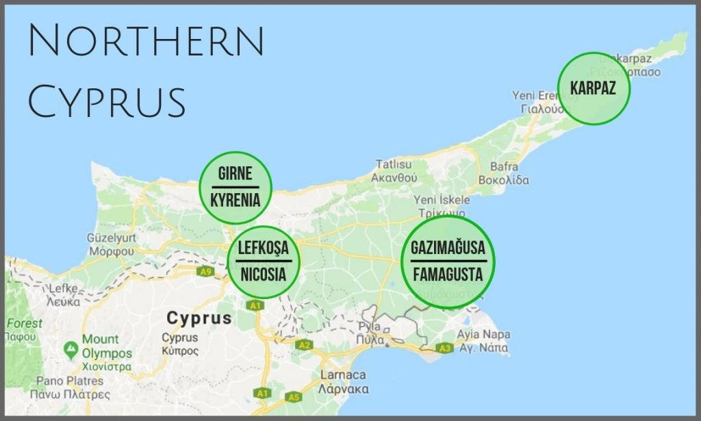 Northern Cyprus. Part 1 - Travels And Twins