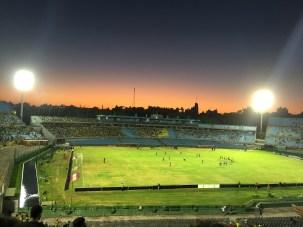 Estadio Centenario futbol game. Home of the first World Cup