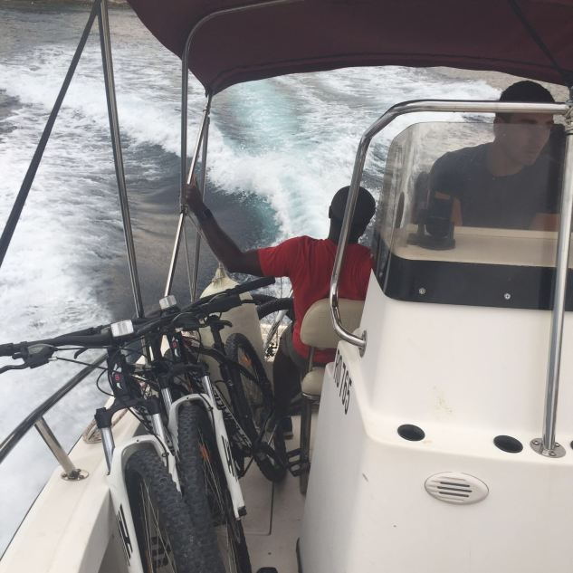 Bikes on a boat?
