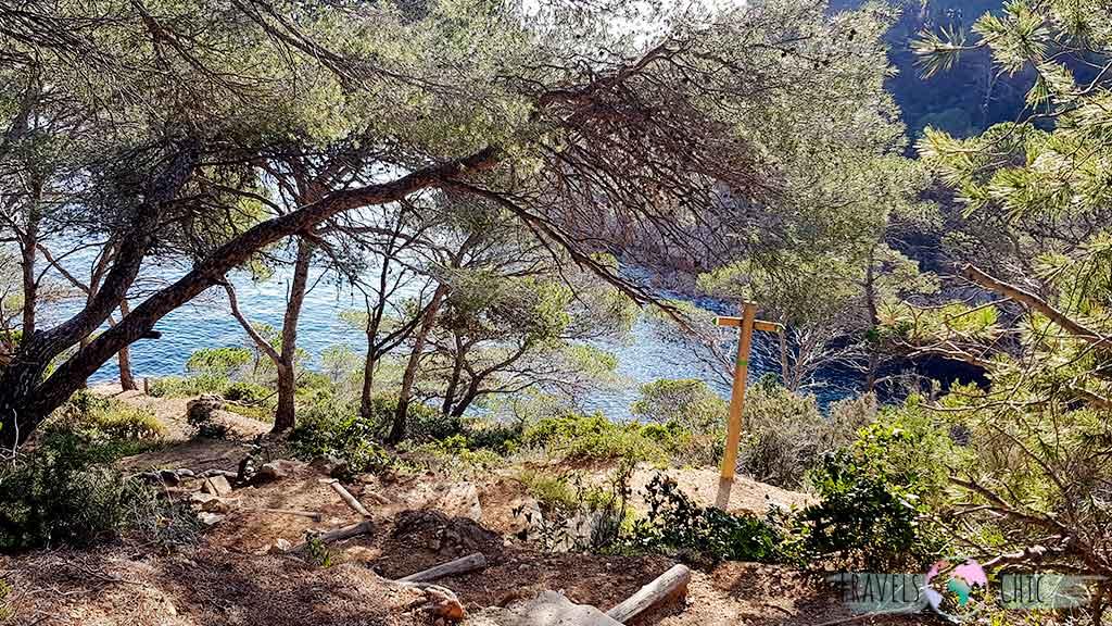 Camino Cala Bona Tossa de Mar
