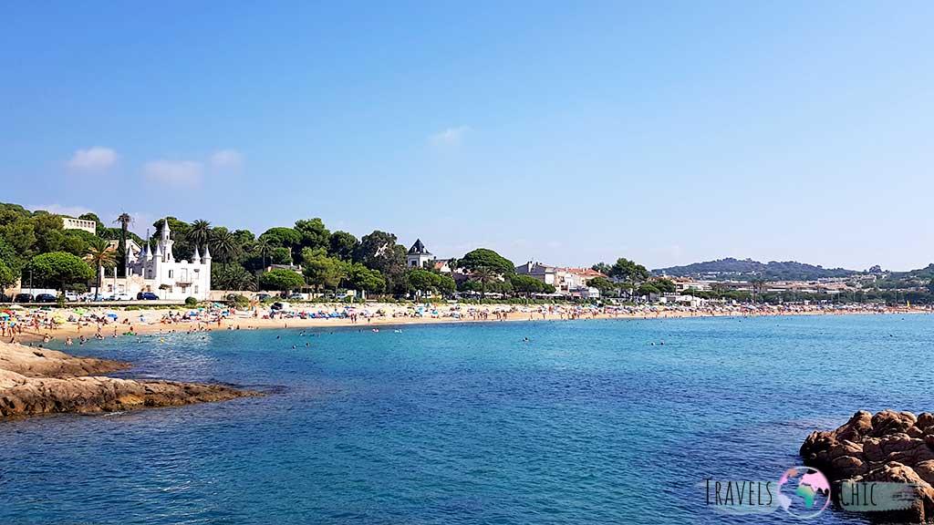 Playa de Sant Pol en S'Agaró Costa Brava