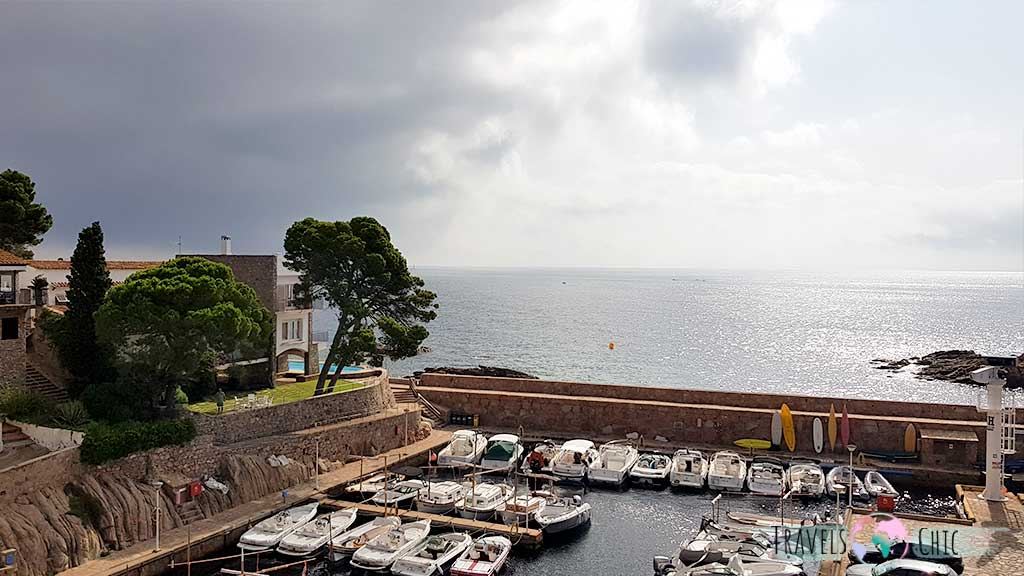 Puerto de fornells Begur Costa Brava