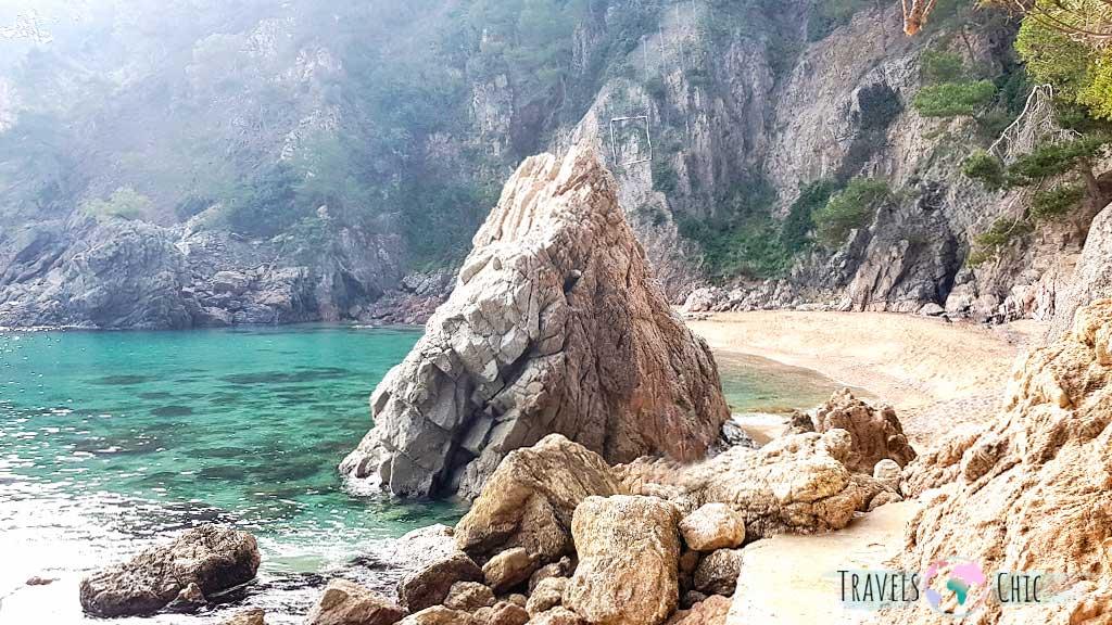 Cala El Golfet Calella de Palafrugell Costa Brava