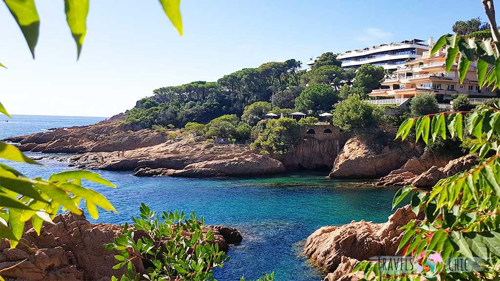 Camino de ronda de S'Agaró a Sant Feliu de Guíxols