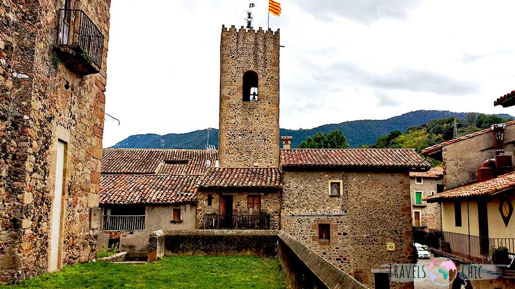 Castillo de Santa Maria Santa Pau