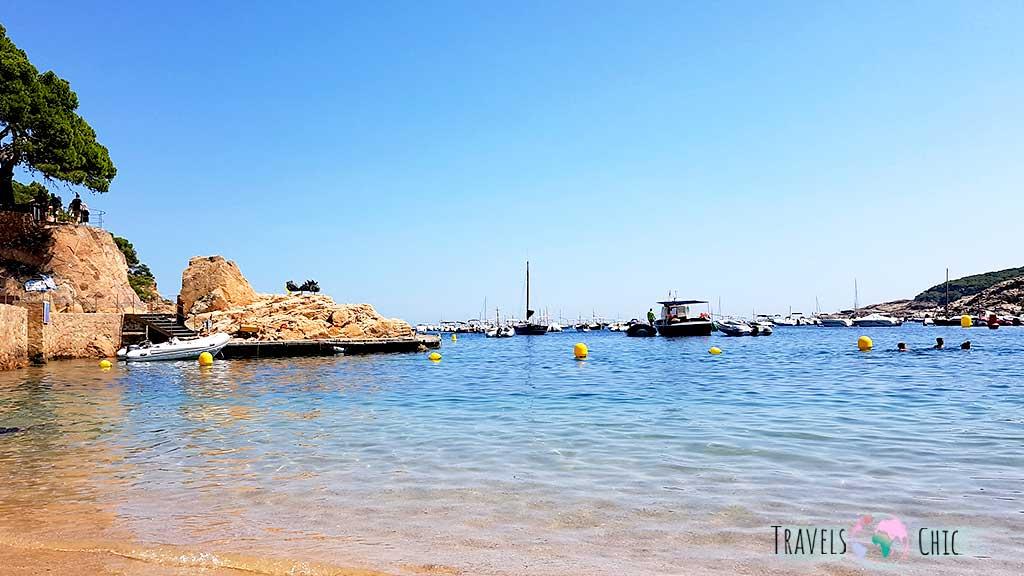Playa de Tamariu Costa Brava