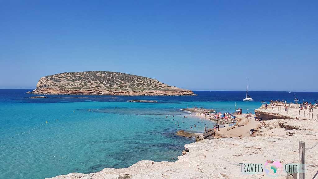 Vistas a Cala Conta Ibiza