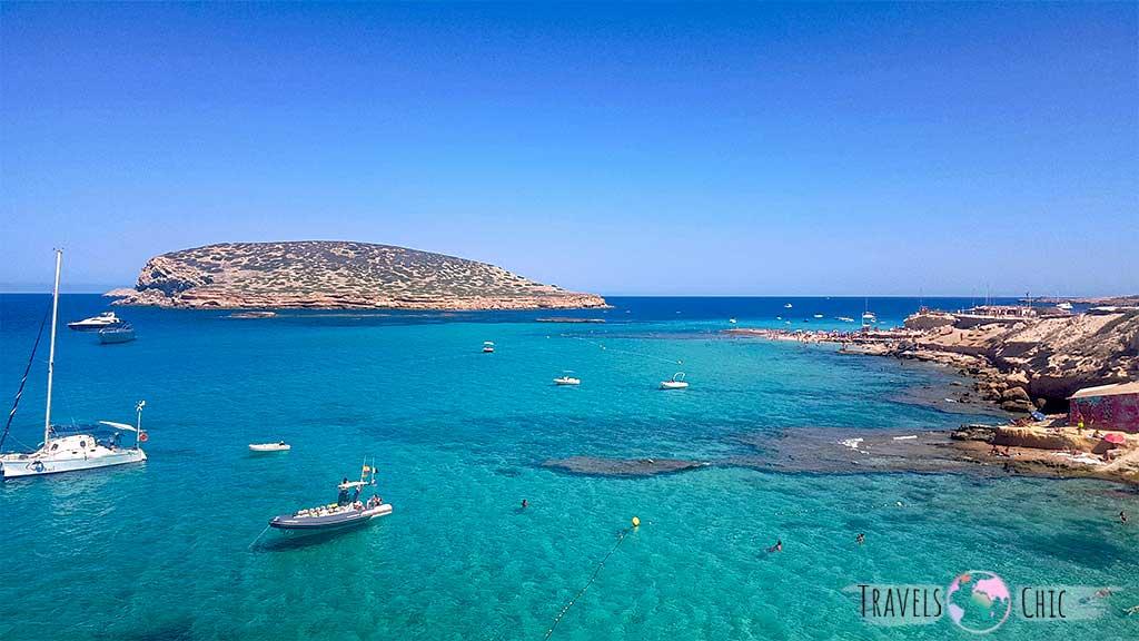 Cala conta es una de las mejores calas que ver en Ibiza