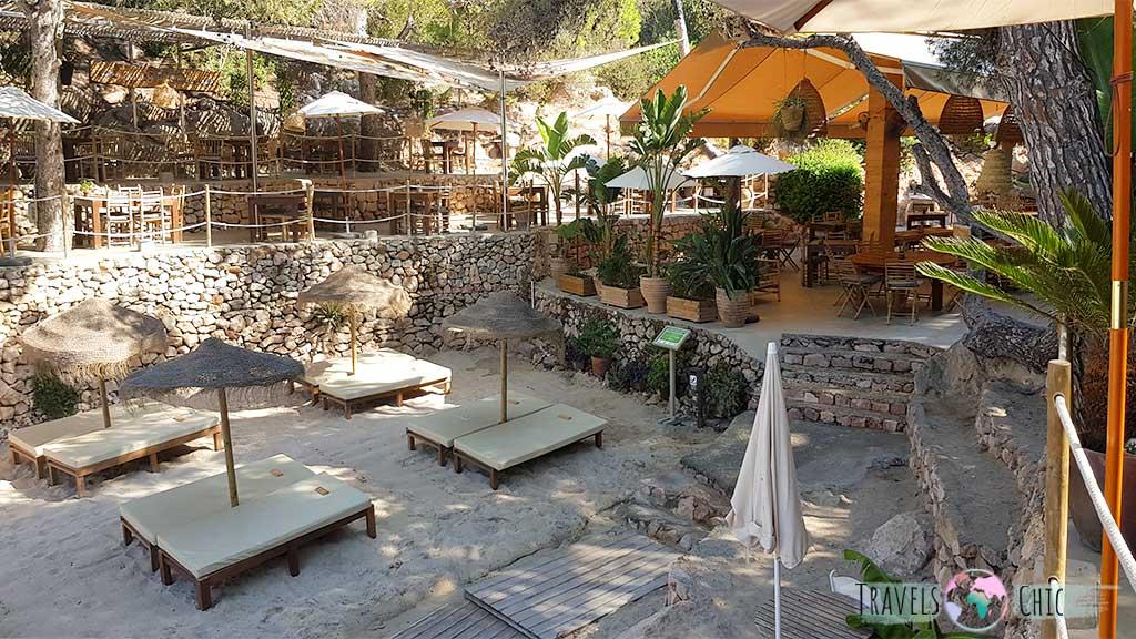 El Chiringuito Cala Gracioneta, el mejor sitio donde comer en Ibiza