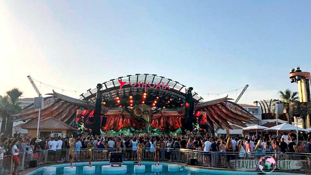Ushuaia es de las mejor discotecar a las que ir en Ibiza