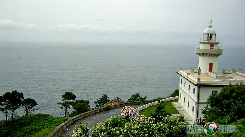 Faro del monte igueldo San Sebastián