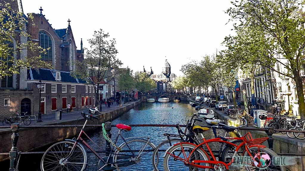 Iglesia Oude Kerk Barrio Rojo de Amsterdam
