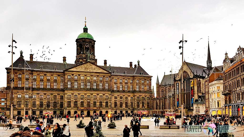 Que visitar en Amsterdam Plaza Dam