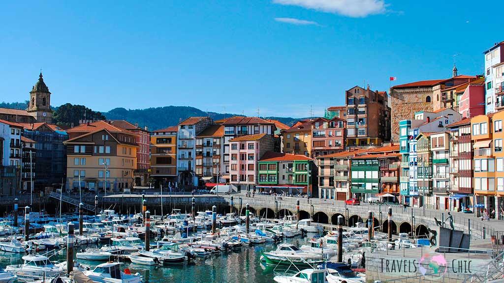 Bermeo uno de los lugares que ver en el País Vasco